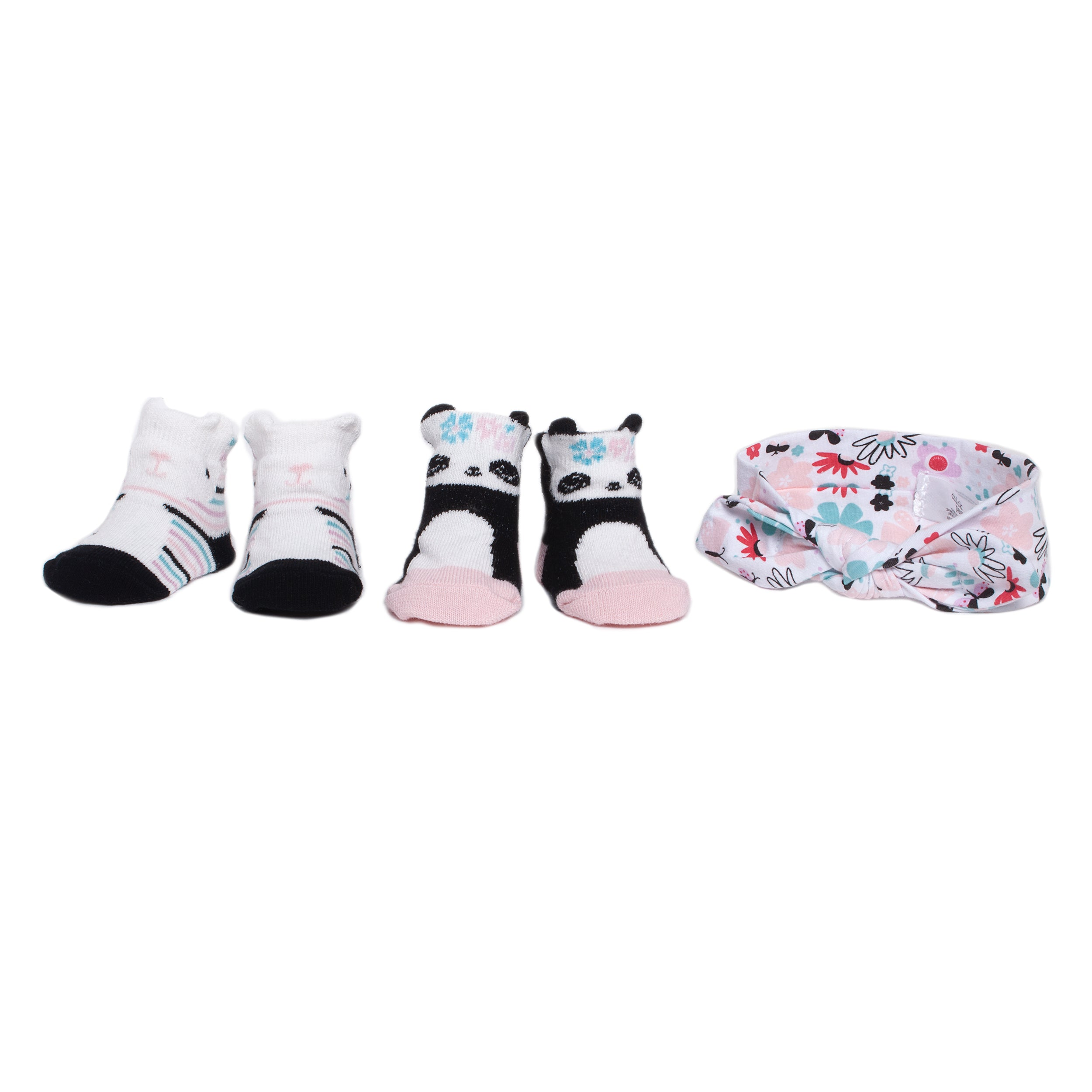 3 Pc  Headband & Sock Box Set
