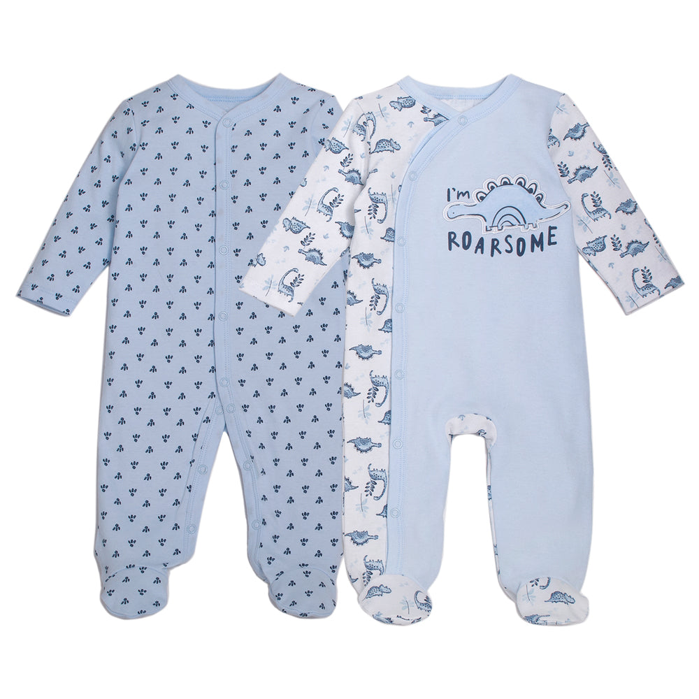 2 Pack Footed Coverall