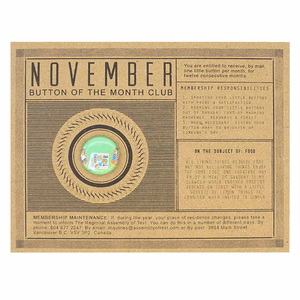 Button a Month Club