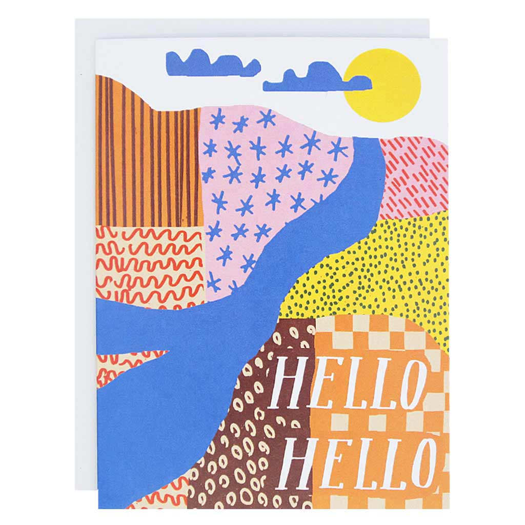 Box of 12 Hello Landscape
