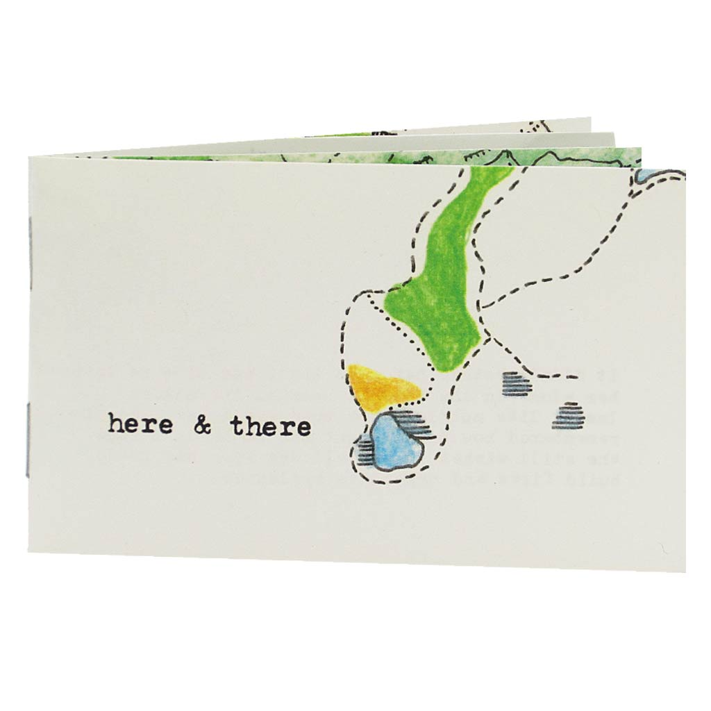 Each place has a story to tell. In this little book the author muses about memories held dear in each landscape from coast to coast. Hand drawn maps accompany poetic text on each page.The geography is integral to each story and the maps included provide us with ample visual to reference as needed.