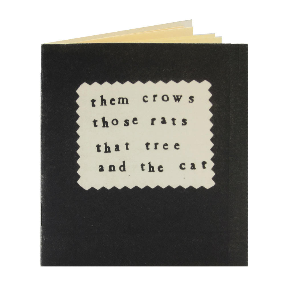 A lot can go wrong when rats and crows get mixed up over things having to do with a tree. And things only get worst once a cat gets involved. A funny little story about animals with scratchy little drawings.Warning: explicit language. Includes a technical drawing for easy reference.