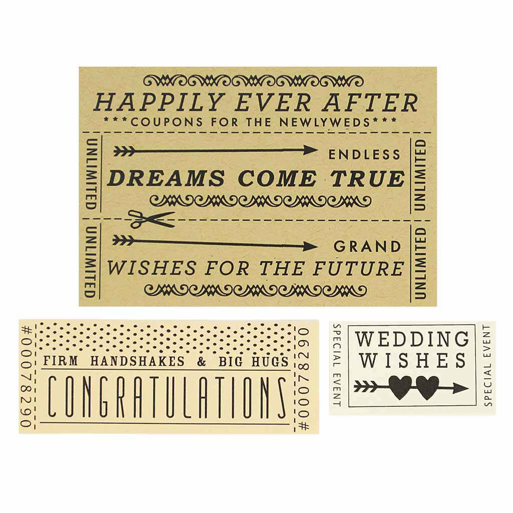 Wedding Tickets