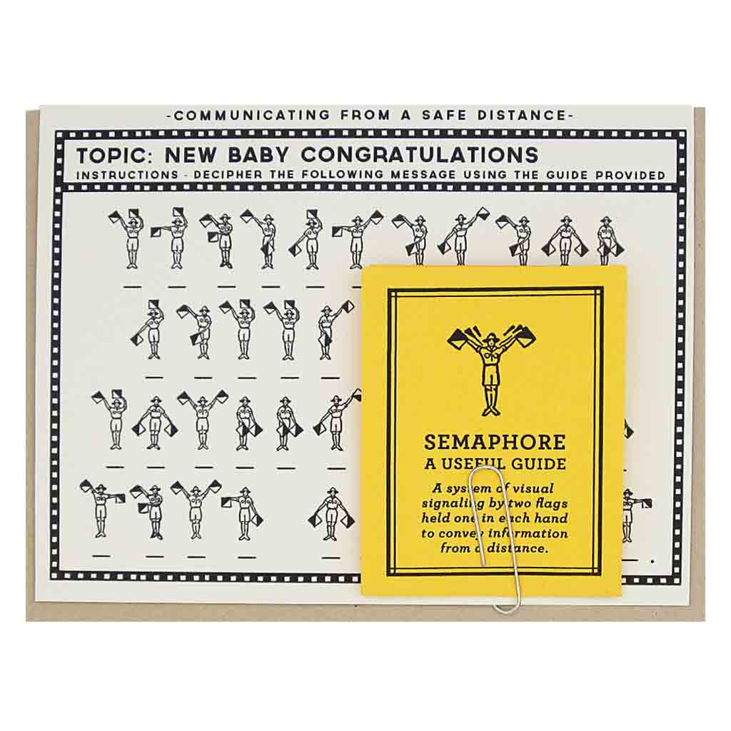 New Baby Semaphore The Regional Assembly Of Text