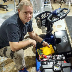 Image of Equipment Repairs and Servicing Department at Astley Mobility