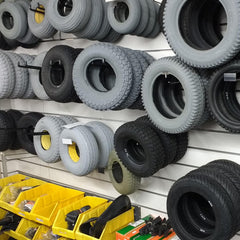 Image of Spare Parts Section at Astley Mobility
