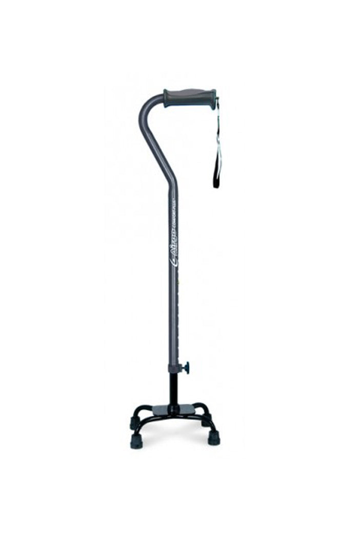Airgo Comfort Plus Offset Cane with Quad Base (136kg)