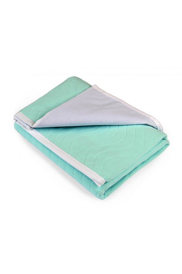 Caretex® Reuseable Bed Pad (100x140cm) with tuck-ins (for Double or Queen size bed)