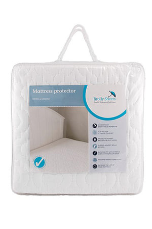 Brolly Sheets Mattress Protector - Waterproof