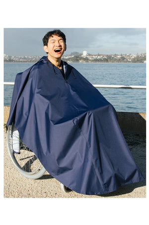 Wheelchair Raincoat (Poncho with Hood)