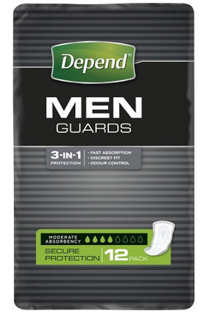Depend® Guards For Men (12 pack)
