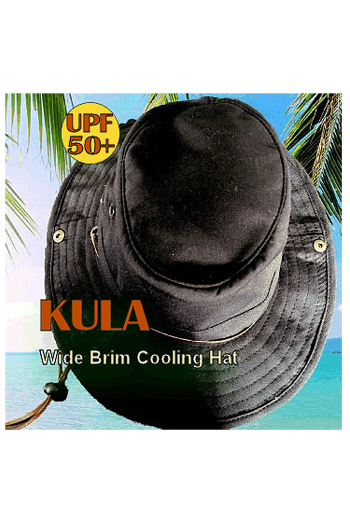 Wide Brim Cooling Hat (UPF 50+)