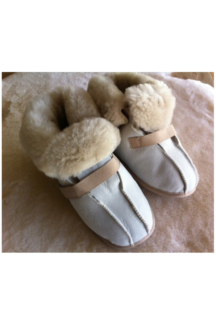 Sheepskin Medical Slippers- DELUXE
