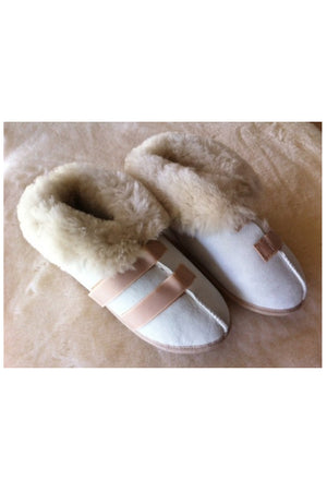 Sheepskin Medical Slippers- STANDARD