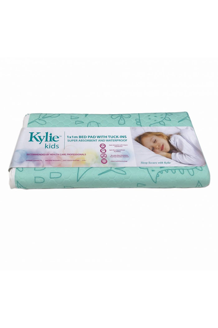 Kylie Kids Supreme Mac - 100cm x 100cm (bed pad with tuck-ins)