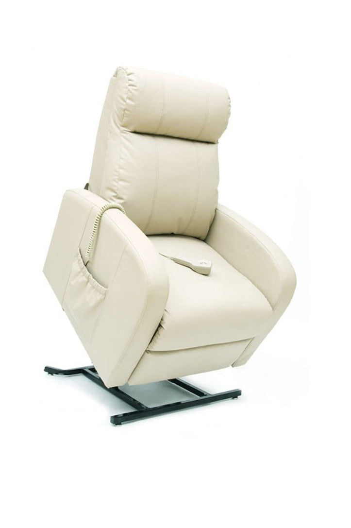 Pride LC101 Single Motor Lift Chair (147kg) Leather