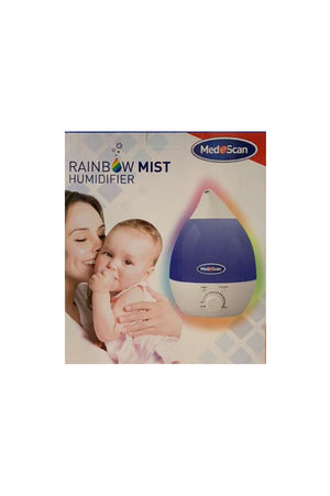 Medescan Rainbow Mist Humidifier / Nightlight