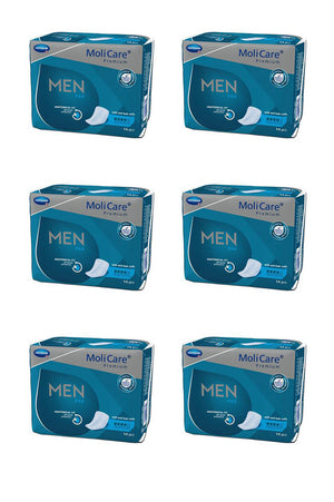MoliCare Premium Men Pad 4 drops (14 pack | Bulk Buy $9.99 x 6)