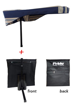 Scooter Rear Bag and Canopy Combo