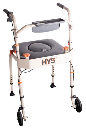Showerbuddy HY5 Transporter Commode (120kg) 5-function system