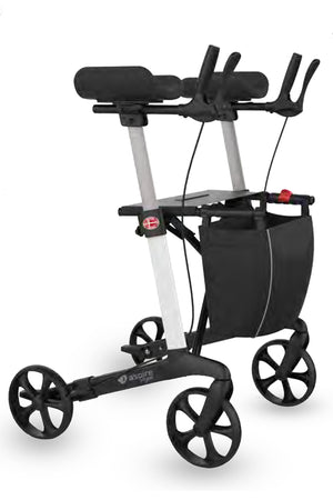 Aspire Vogue Folding Forearm Rollator Walker - 150kg