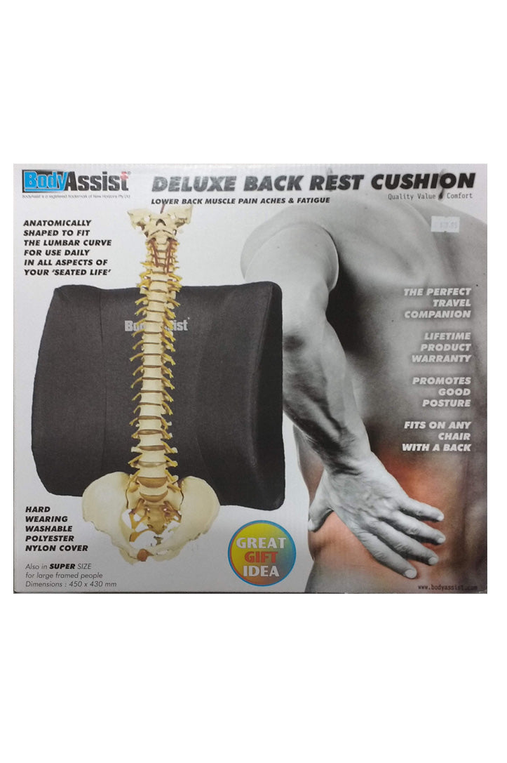 Bodyassist Deluxe Back Rest Cushion