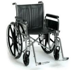 "Breezy EC2000HD Wheelchair 24""  (200kg)"