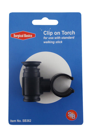 Clip on Torch for Walking Stick