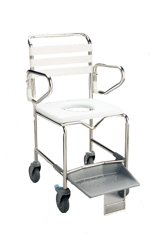 Commode/Shower Chair Mobile (160kg)