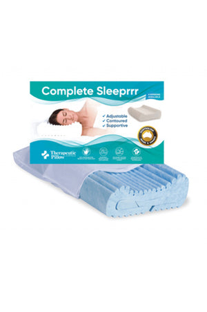 Thera-Med Complete Sleeprrr Pillow - Memory Foam Gel