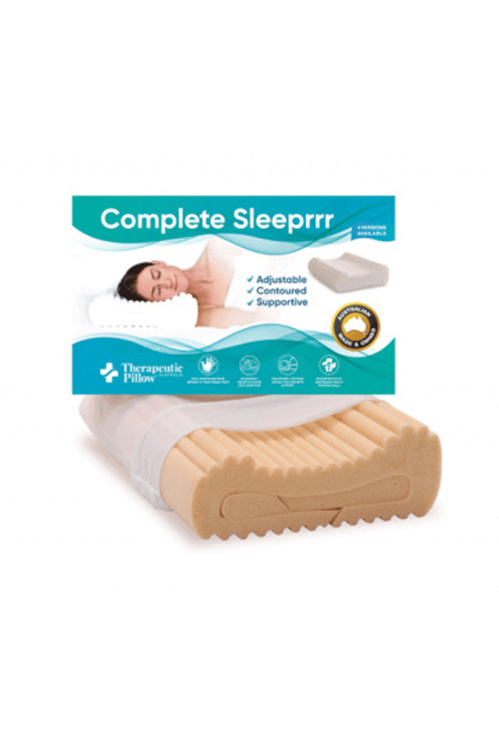 Thera-Med Complete Sleeprrr Pillow - Memory Foam Plus