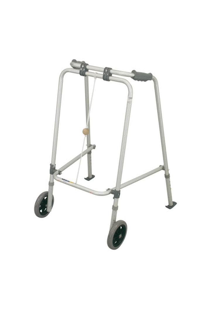 Coopers Walking Frame with Wheels & Skis (125kg)