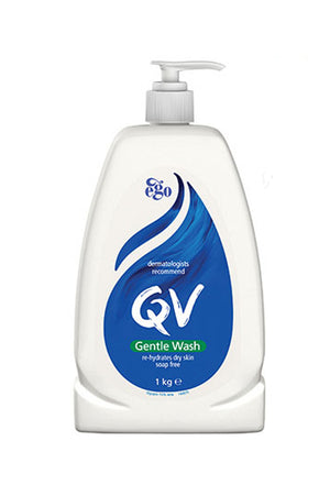 Ego QV Gentle Wash (1kg) Pump Pack