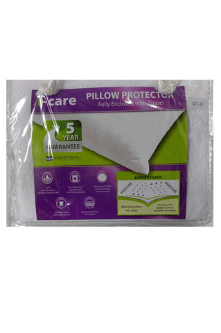 i-care Pillow Protector (2pk) - Waterproof