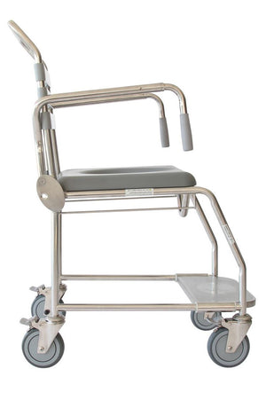 Juvo Mobile Commode/Shower Chair #1 (200kg)