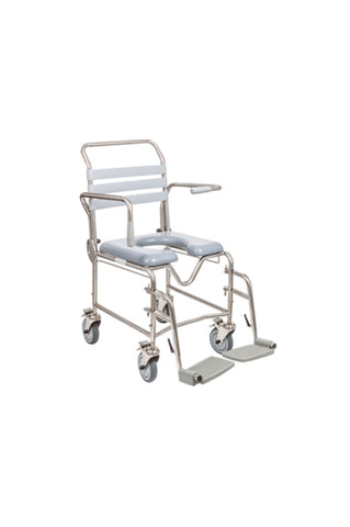 Juvo Mobile Commode/Shower Chair #2 (200kg)