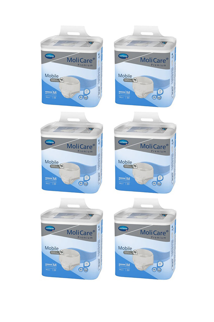 MoliCare Premium Mobile 6 drops (14 pack | Bulk Buy $24.16 x 6)