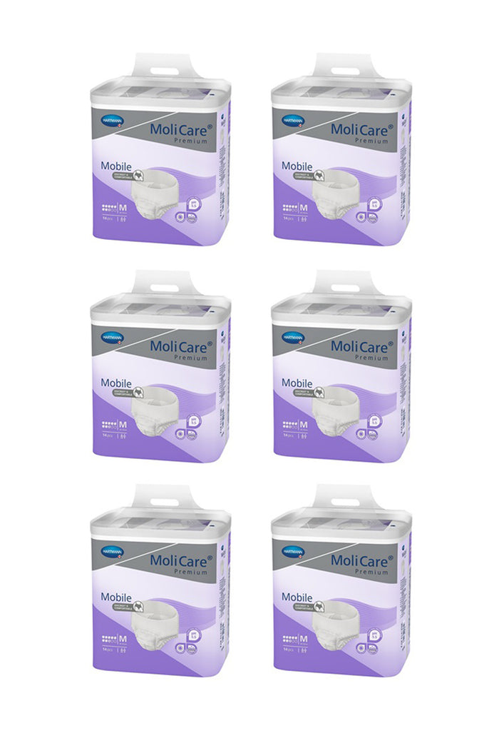 MoliCare Premium Mobile 8 drops (14 pack | Bulk Buy $29.15 x 6)