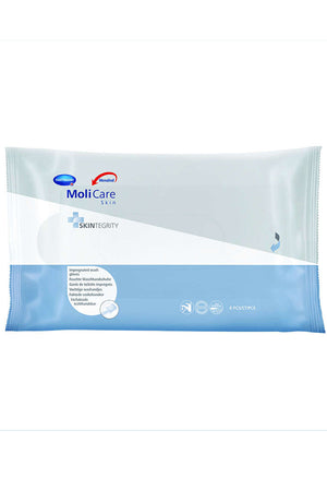 MoliCare Skin Impregnated Wash Gloves (8PK)