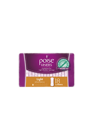 Poise® Light Liners (18 Pack)