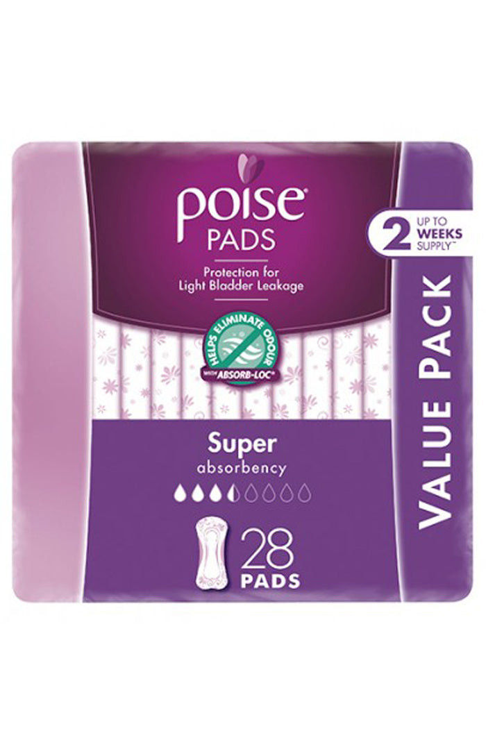 Poise® Super Pads (28 Pack)
