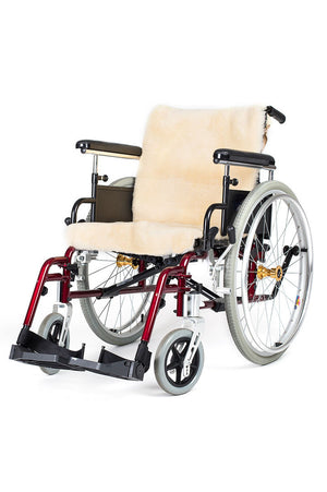 Sheepskin Wheelchair Cover (Seat and Back)