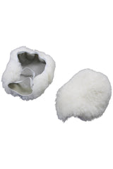 Sheepskin Wheelchair Footplate Covers