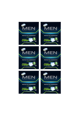 TENA Men Pants Level 4 (8 pack | Bulk Buy $10.41 x 6)