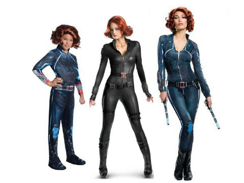 Black Widow Adults Children Costume Hire Buy