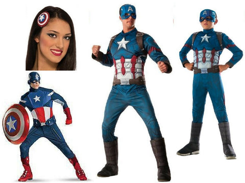 Captain America Mens Costumes Brisbane Buy Hire Childrens