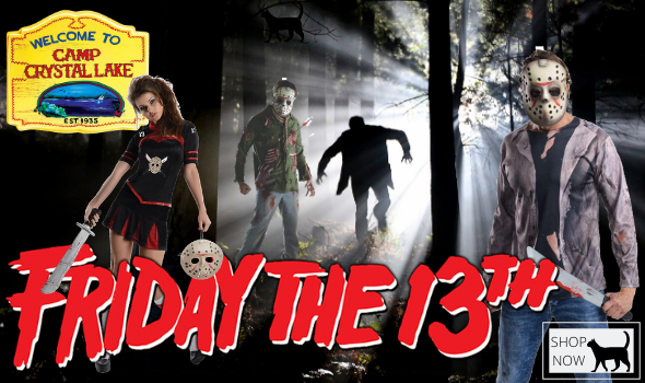 Friday the 13th Costumes Buy Hire Men Women Spooky Halloween