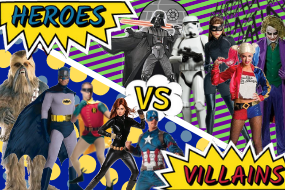 Heroes Villains Superhero Costume Hire Buy Women Men Brisbane