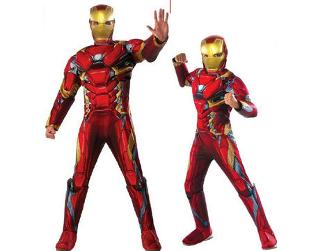 Iron Man Mens Children Costumes Brisbane Buy