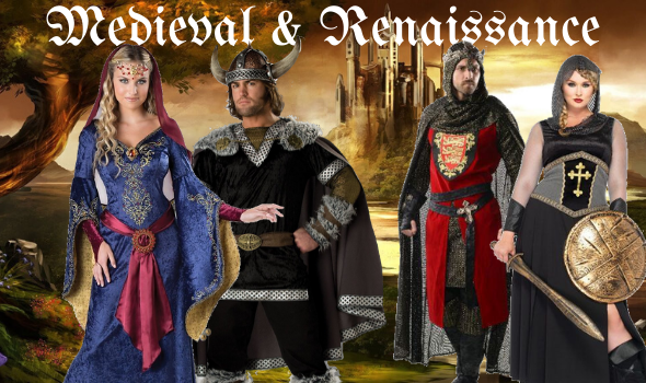 Abbey Medieval Costumes Renaissance Buy Hire Men Women
